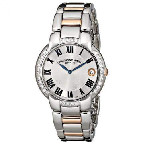 RAYMOND WEIL Jasmine Rose Gold & Diamond Ladies Watch 5235-S5S-01659